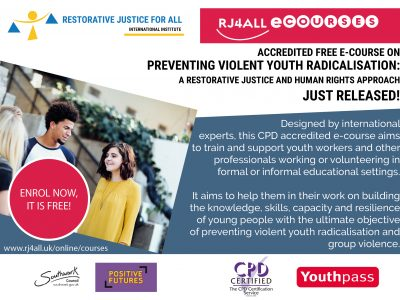 Preventing violent youth radicalisation: A restorative justice and human rights approach