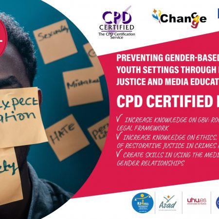 Preventing gender-based violence in youth settings through restorative justice and media education